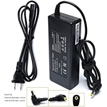 90W Ac Adapter Laptop Charger for Toshiba Satellite L305 L305D L455 L505 L505D L635 L645 L655 L655D L745 L755 L775 L855 L875 A105 A135 C655 C675 C850 C855; PA3714U-1ACA PA5035U-1ACA Power Cord