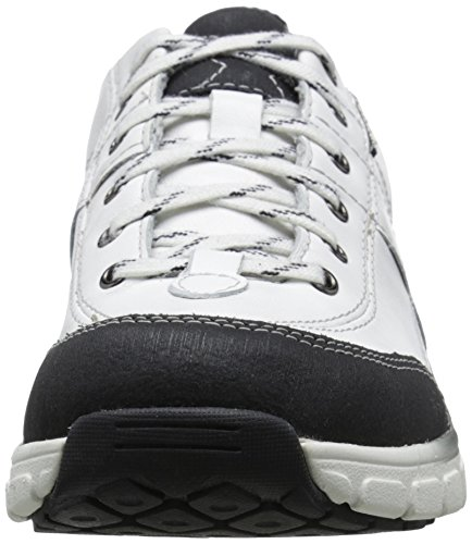 Clarks Fashion White Up Wave Trek Leather Lace Women's Sneaker rqxwrSvXZa