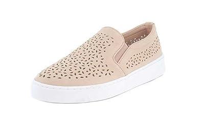 Vionic Women's Midi Perf Slip-On Sneaker Dusty Pink ...