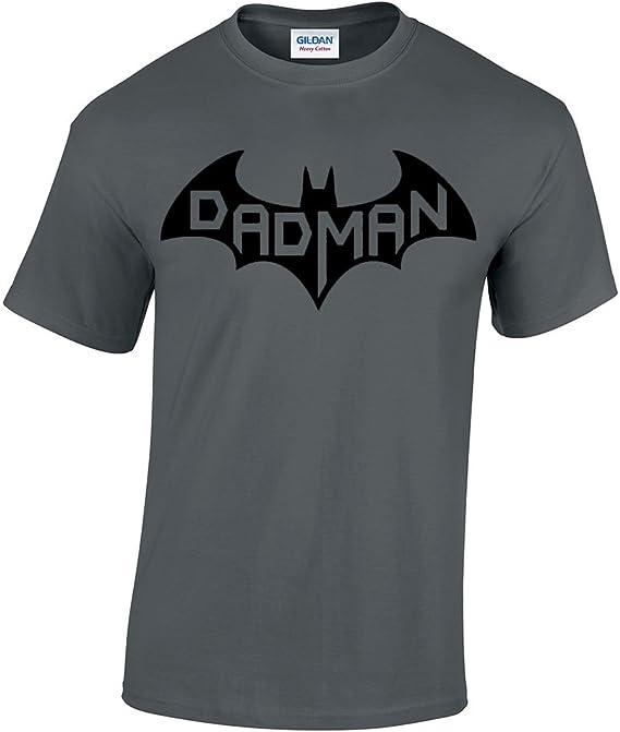 CBTWear Dadman – Super Dadman Bat Hero Funny Premium – playera para hombre