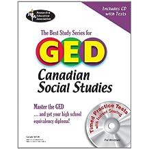 GED® Canadian Social Studies w/ CD-ROM