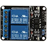 5V 2-Channel Relay Module Shield for Arduino ARM PIC AVR DSP Electronic