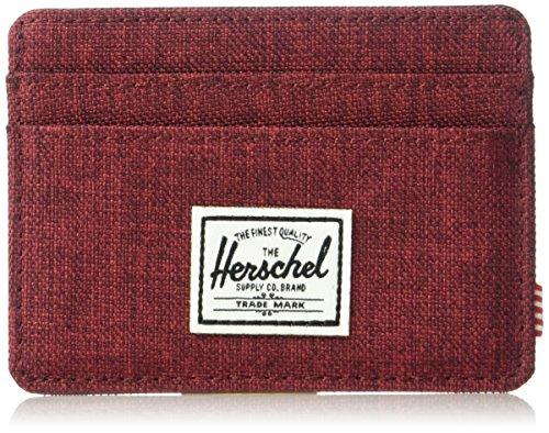 Herschel Herschel Supply Men's Wallet Winetasting Supply Co Crosshatch Co rErxaBqv