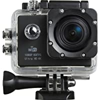 Piqancy WiFi HD 1080P HDMI 4K Action Camera Support 64GB SD Card Rechargeable Battery for Android iOS Smartphone Tablet