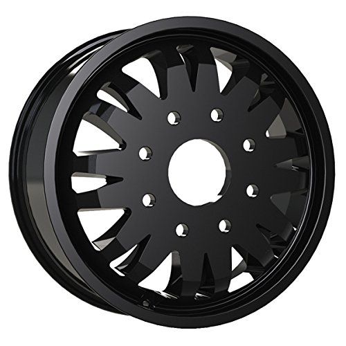 Vision 401 Rival Dually Inner 20x8.25 8x165.1/8x6.5'' +117mm Black Wheel Rim