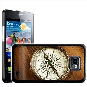 Fancy A Snuggle diseño de brújula Vintage para Samsung Galaxy S2 i9100