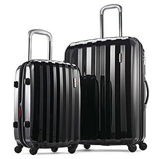 Samsonite Prism 2-Piece Hardside Spinner (20/28) Luggage Set, Black, Checked - Large (Model: 111720-1041) (B07B4TB5PK) | Amazon price tracker / tracking, Amazon price history charts, Amazon price watches, Amazon price drop alerts