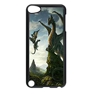 J-LV-F Customized Print Dragon Pattern Hard Case for iPod Touch 5