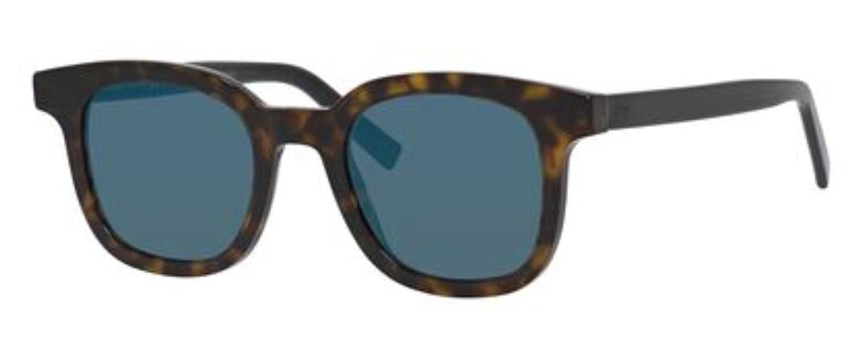 d2f15a60ff55 Amazon.com  Authentic Christian Dior Homme Black Tie 219 S KVX 2A Dark  Havana Blk Sunglasses  Clothing