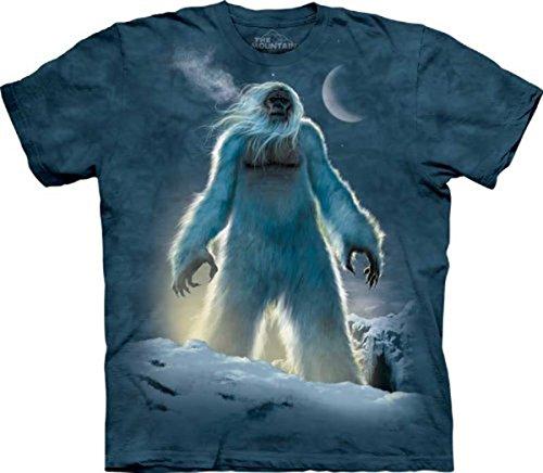The Mountain Men's Yeti T-Shirt, Blue, Medium