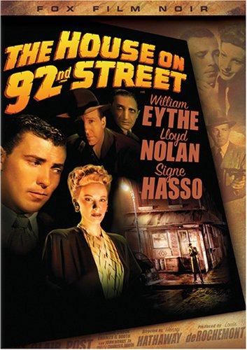 The House On 92Nd Street  Fox Film Noir
