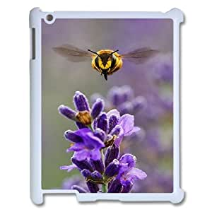 Best Quality [LILYALEX PHONE CASE] Honey Bee Pattern For Ipad 2/3/4 Case CASE-6