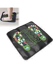 Tapete de massagem de caminhada, promove o metabolismo Tapete de massagem de reflexologia para aliviar neuralgia em ambientes internos e externos