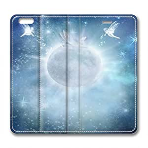 Mysterious Star Personalized Design Iphone 6 leather Case Angel