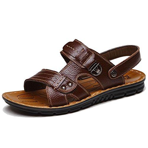 marrone Pantofola da Traspirante da Scarpe Sandali Antiscivolo Casual Uomo Estivi Spiaggia X0UXwzqv