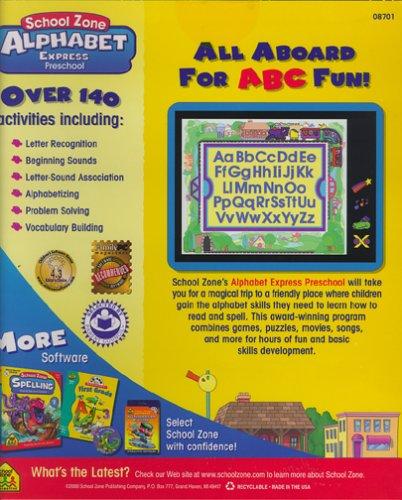 School Zone Alphabet Express Preschool - Buy Online in UAE