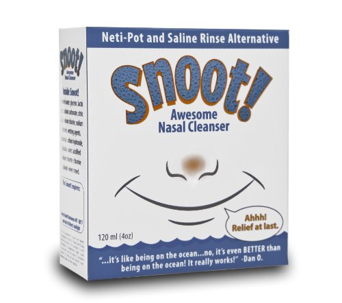Snoot! Nasal Cleanser, Original Formula (Super Strength!), 120ml 1-pack from Snoot!