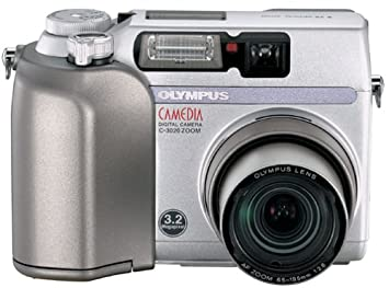 amazon com olympus camedia c 3020 3mp digital camera w 3x optical rh amazon com Olympus C 700 Memory Card 1970s Olympus Cameras