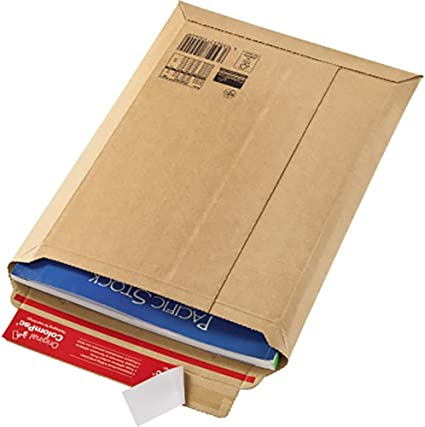 Verpackung Wellpapp-Versandtasche 250x351mm A4+