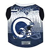Littlearth NFL Los Angeles Rams Pet Performance Tee Shirt