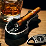 Portable Aluminium Cigar Ashtray for Outdoor Indoor