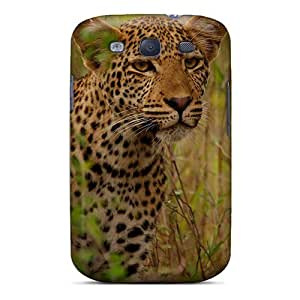 High Quality Young Leopard Case For Galaxy S3 / Perfect Case