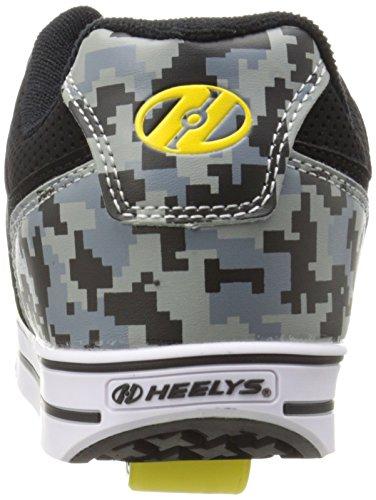 Heelys MOTION Schuh 2014 grey digicamo/yellow 31 AbAutt