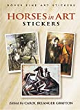 Horses in Art Stickers, , 0486449343