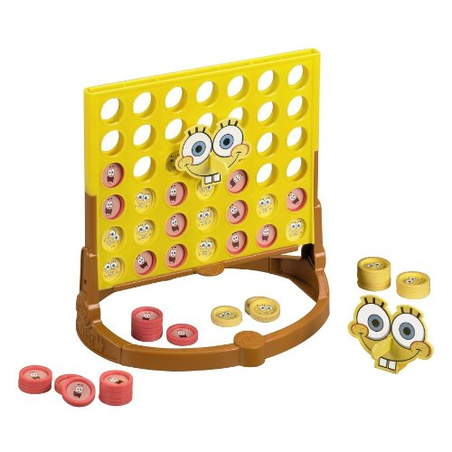 Connect 4 Spongebob Edition Hasbro 4596