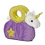 "Star White Unicorn Fancy Pals Purse 8"" Animal"