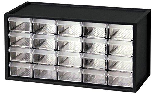 130 Lb Bin - Shuter 1010034 Cabinet Bench Parts 20 Bins