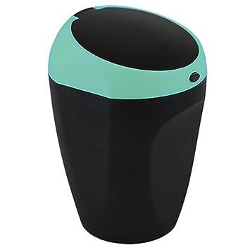 Estación Portátil Wagon Cenicero Automático Cenicero Cenicero Caja De Emisión Automática Mate Azul Luces LED Carro