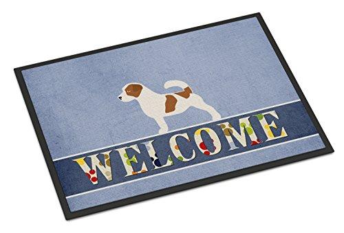 (Caroline's Treasures Jack Russell Terrier Welcome Doormat 18 x 27 Multicolor)