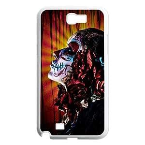 ALICASE Diy Design Back Case Artistic Skull for Samsung Galaxy Note 2 N7100 [Pattern-2]