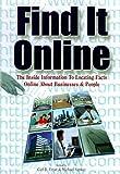 Find It Online, Alan M. Schlein, 1889150061