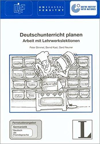 18: Deutschunterricht planen (Cursos a distancia)