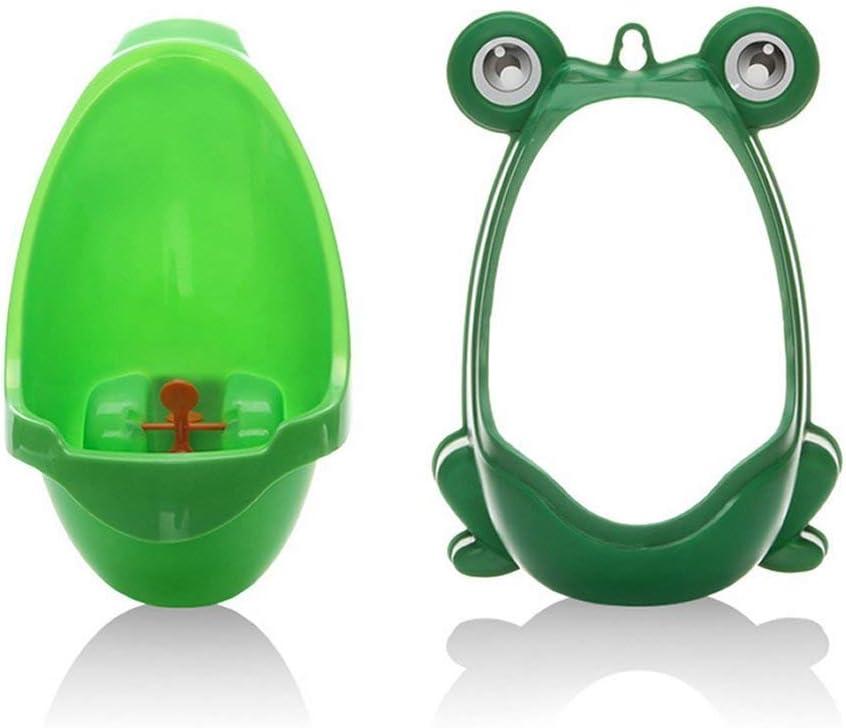 Toilet Training//Kids Urinal for Boys//Pee Trainer//Portable Ergonomic Design Cute Frog Shape Children Potty Blue