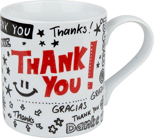 Konitz Thank You Mugs, Set of 4 ()