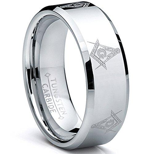 Ultimate Metals Co. Herren Wolframcarbid Ring