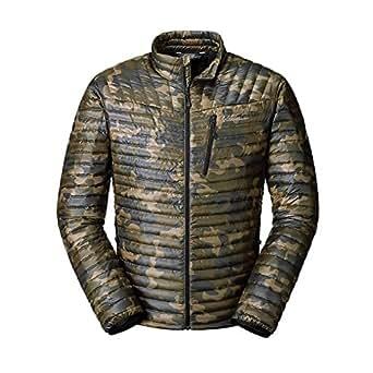 Eddie Bauer Men's MicroTherm StormDown Jacket, Dk Green S