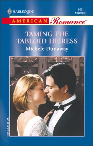 book cover of Taming the Tabloid Heiress