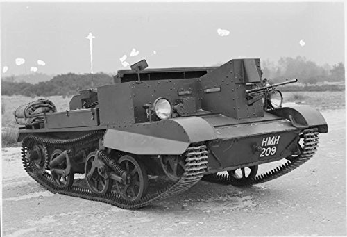 Print Tanks Afvs The British Army 1939-45 Carrier Bren, No 2, Mk I Stretched Canvas 10 x 14 ()
