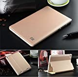 MOCA Wake/Sleep Function PU Leather Stand Flip Carry Case Cover For Xiaomi Mi Pad 7.9' Inch Smart Flip Cover Case (Gold)
