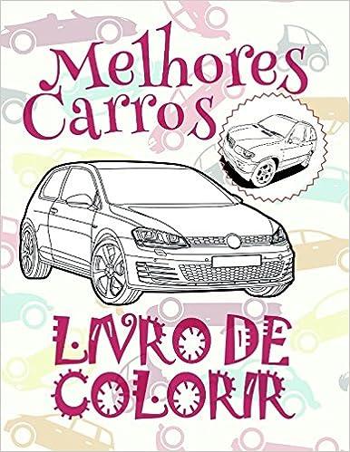 Livro De Colorir Melhores Carros Coloring Books For Men 9996