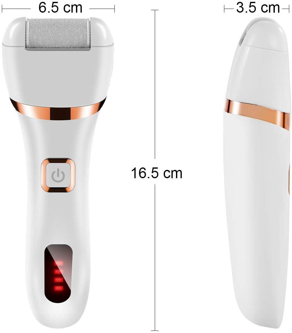 Removedor de callos eléctrico 3 en 1, afeitadora USB recargable ...