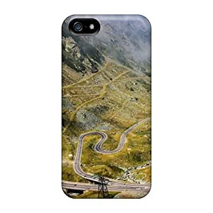 New Design Shatterproof AXEajwN1891oGhzl Case For Iphone 5/5s (transfagarasan)
