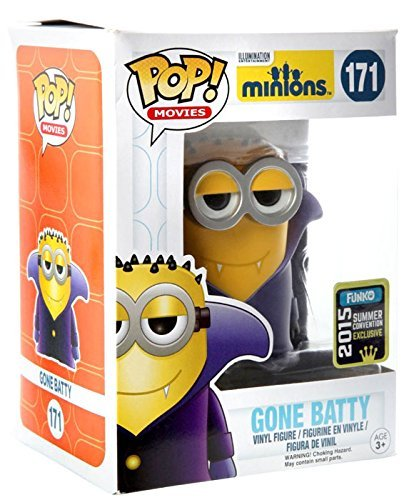 Funko Minions Gone Batty 2015 Summer Convention Exclusive Pop
