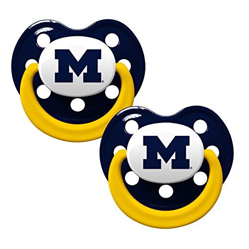 Baby Fanatic Pacifier University Michigan