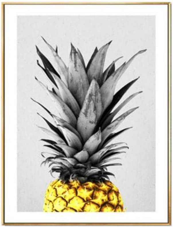 YGYT Nordic Wall Art Modular Prints Today is The Day Inspirational Quote Pineapple Scandinavian Picture Poster Canvas Painting Living Room Home Decor No Frame