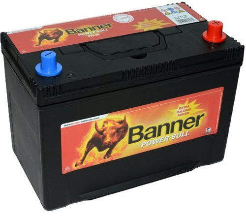 Banniè re Power Bull Batterie de dé marrage 12 V, 95 ah, 740 A (en), P9504 95ah 740A (en) Banner
